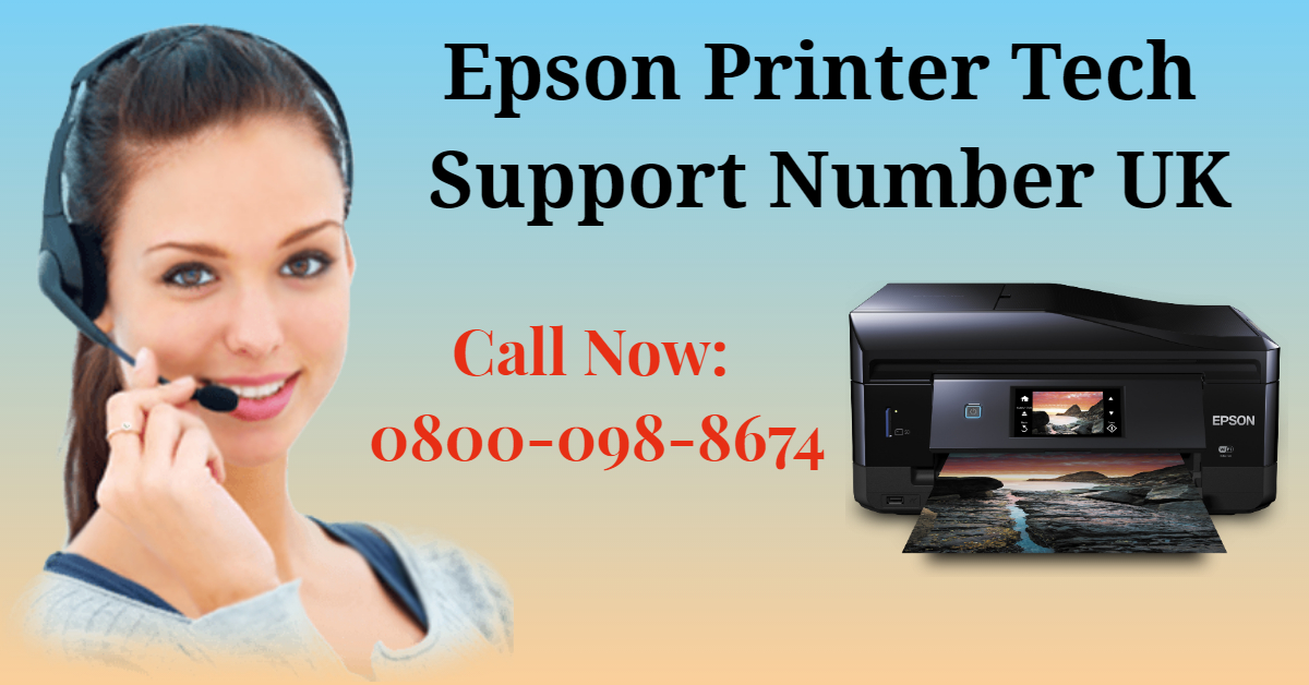 Epson Printer Technical Support Number UK 0800-098-8674