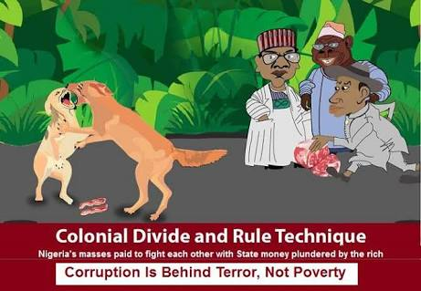 Divide And Rule Syndrome: How the British Government Changed Nigeria