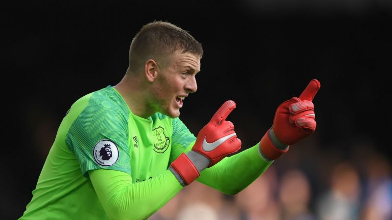 BREAKING NEWS: Pickford signs new six-year Everton deal