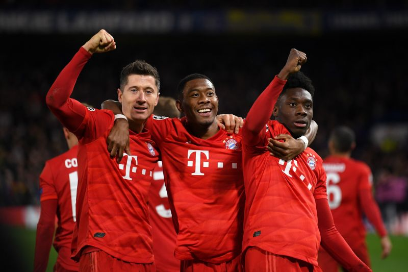 David Alaba claims Robert Lewandowski is on par with Lionel Messi and Cristiano Ronaldo
