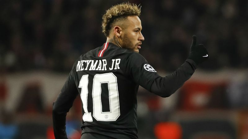 From Santos teenager to PSG superstar: Neymar