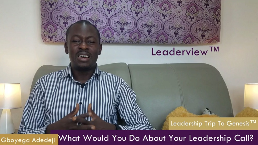 Have You Also Been Called  A Leader? What Would You Do About Your Leadership Call?