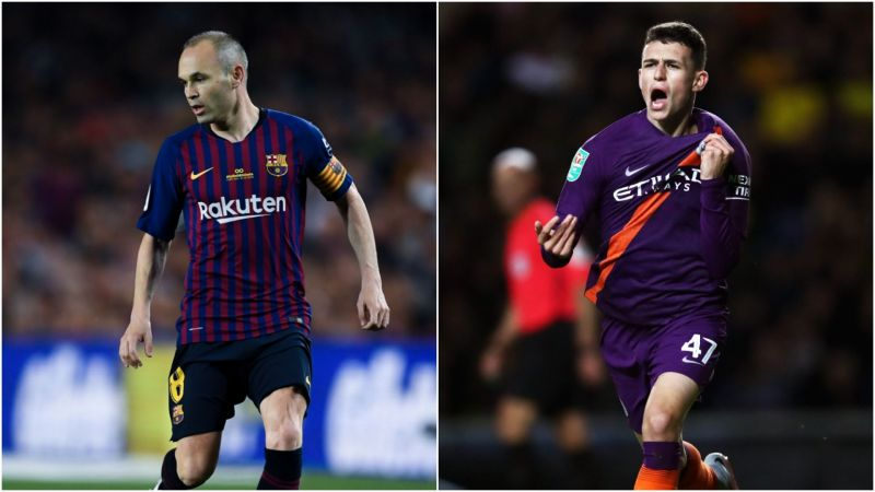 Iniesta is on a different planet - Foden rejects comparison to Barcelona icon