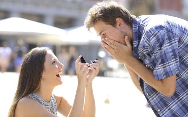 FOR LADIES: IS IT WRONG IF A LADY PROPOSES TO A GUY?