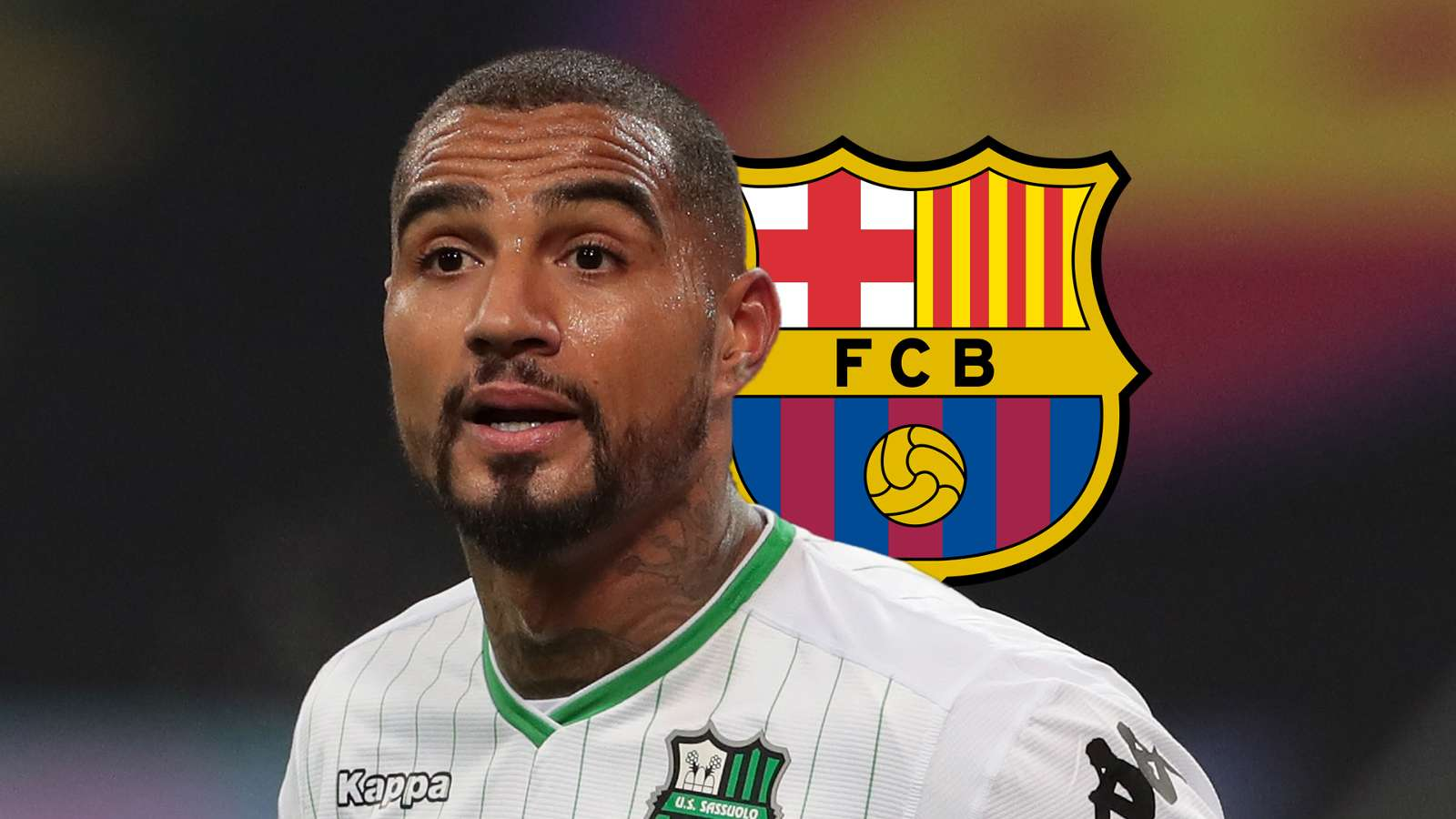 Official: Kevin-Prince Boateng joins Barcelona from Sassuolo