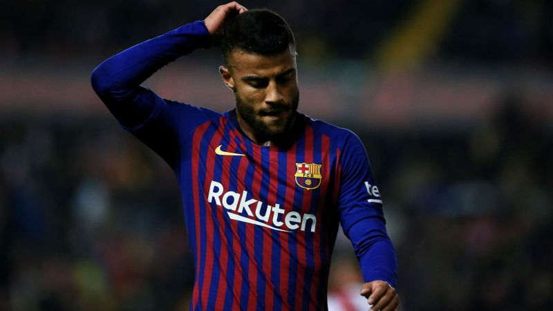 Rafinha wants Barca exit due to