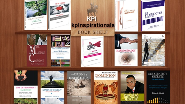 List of Books Published by Kingdom Pathwalker Inspirationals