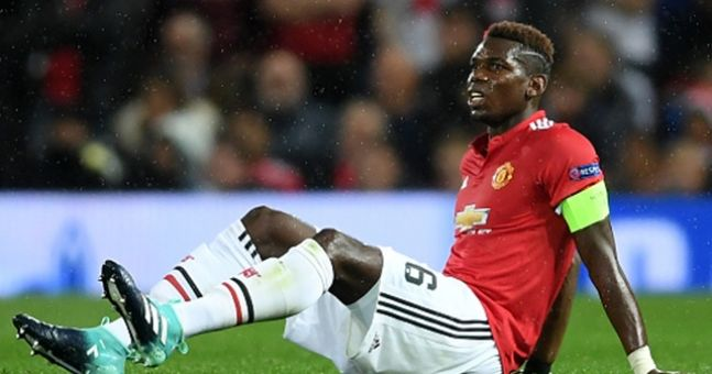 POGBA HAS PICKED AN INJURY DURING THE CHAMPIONS LEAGUE MATCH AGAINST BASEL