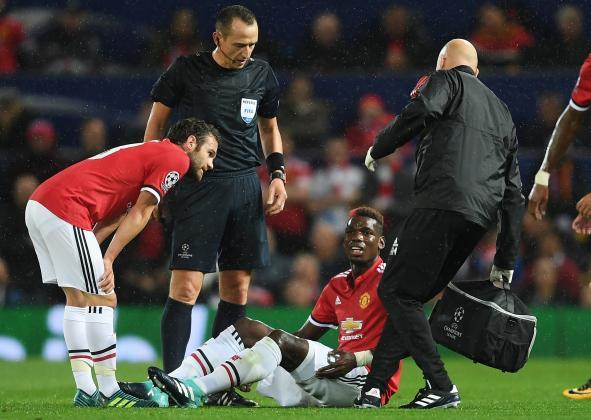 Pogba in hot water with Jose Mourinho after ignoring medical advise over hamstring issues