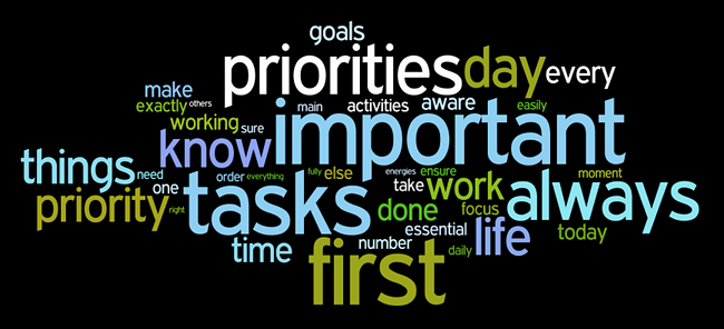 The Law of Priority: How To Find The Most Important In Life
