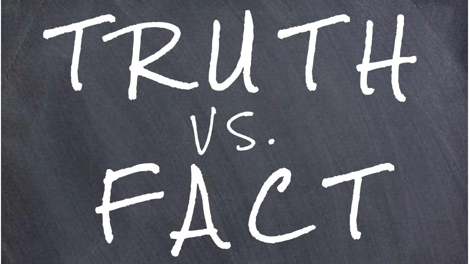 The Ridicule of Faith: When Fact Is Preferred to The Truth