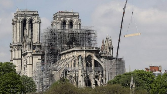 What Is in A Temple? : The Notre Dame Attention